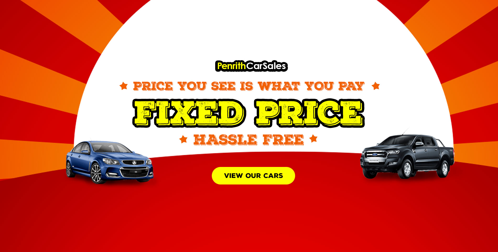 Fixed Priced Cars